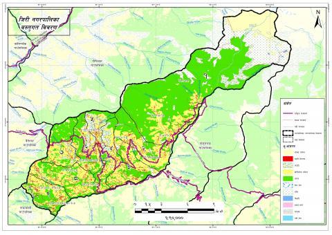 Jiri GIS map